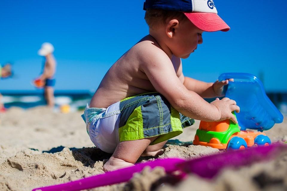 crème solaire bébé et enfant